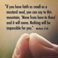 faith as small quote