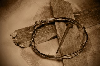 cross nail crown of thorns