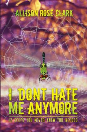 book cover design I DONT HATE ME ANYMORE