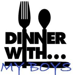 dinner with my boys