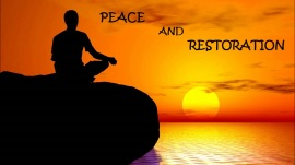 peace and restoration