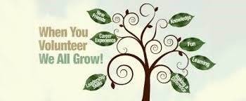 volunteer we all grow
