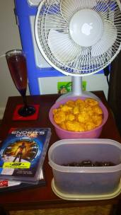 Foo movie and munchies