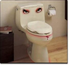 evil toilet