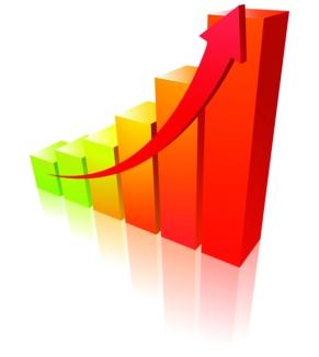 bigstock-warm-graph-14464589