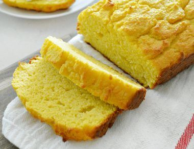 coconut and mango bread