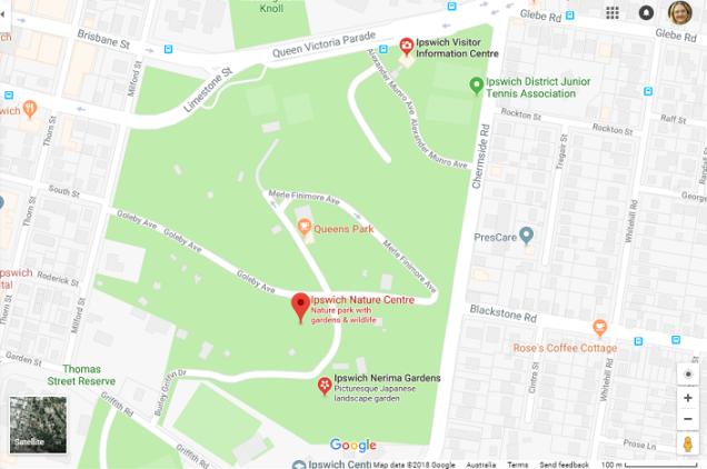 Map_Queens Park Cafe