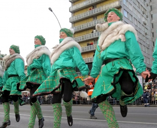 st-patricks dancers