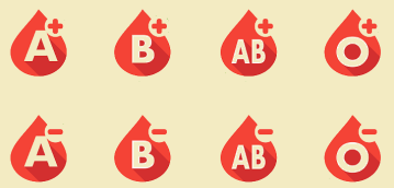donate blood-types