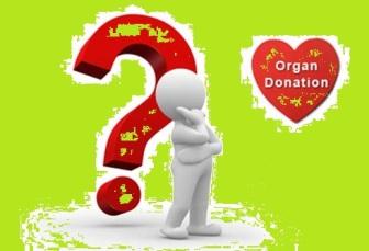 donation organ question mark