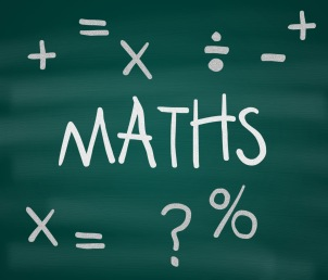 Arithmetic and maths concept