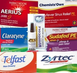 hayfever medications