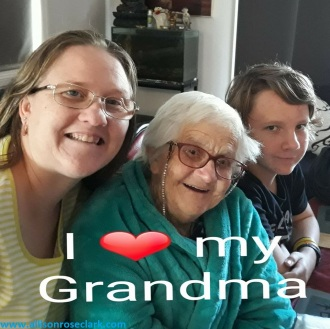 Grandma Allie and Liam June.2018