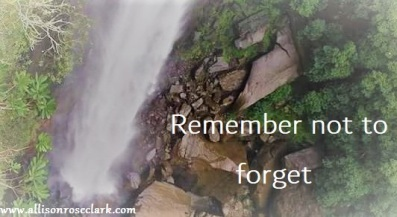 Remember not to forget (2)