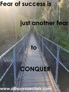 fear of success is just another fear to conquer - allisonroseclark