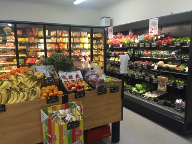IGA fruit and vege section Wivenhoe