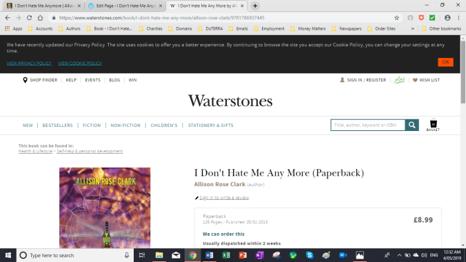 Waterstones - I Don't Hate Me Anymore