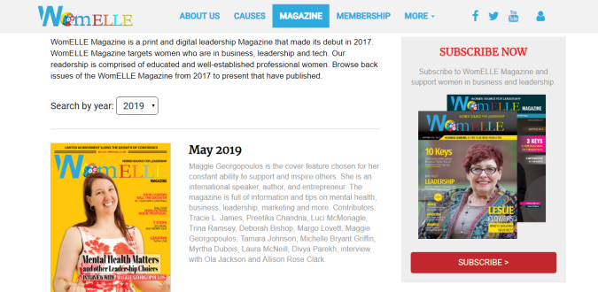 WomELLE Magazine