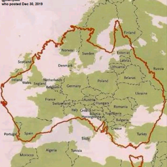 Australia size in relation to Europe_@marty386 Twitter Dec 30